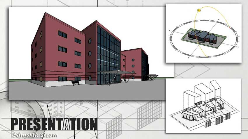 آموزش Preparing Views for Competition Boards in Revit