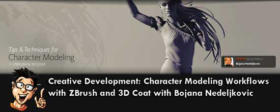 دانلود رایگان Character Modeling Workflows in ZBrush and 3D-Coat