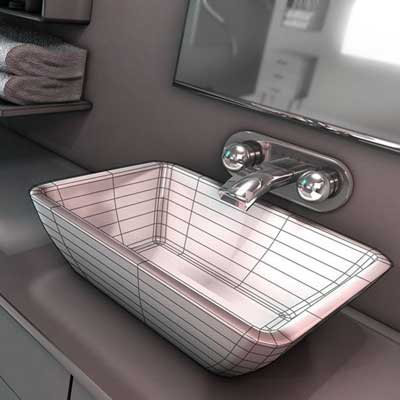 آموزش فارسی Modeling Interiors in CINEMA 4D