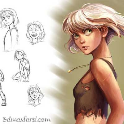 دانلود آموزش Character Concept Design and Development in Photoshop
