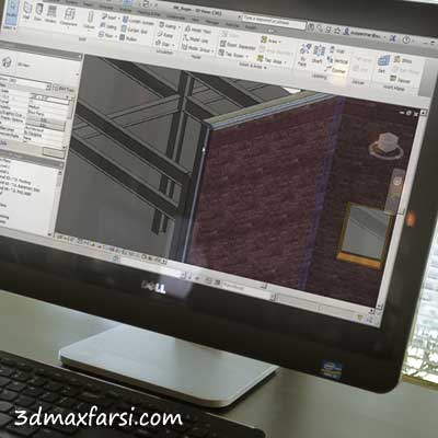 دانلود آمورش Working in the Construction Template in Revit