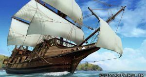 دانلود آموزش Creative Development Modeling Detailed Ship Maya