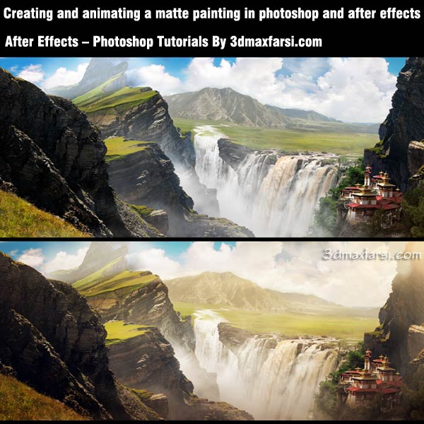 آموزش تکنیک After Effects - Photoshop Matte Painting