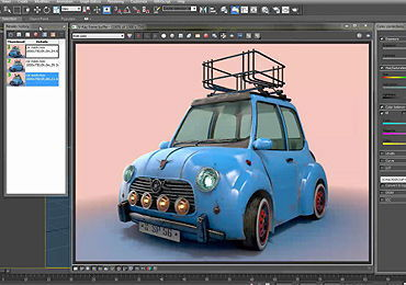 Vray 3.0 Advanced V-Ray Frame Buffer