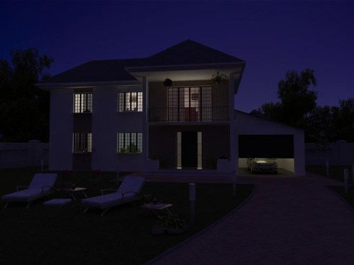 Rendering an Architectural Night Scene in V-Ray and Photoshop