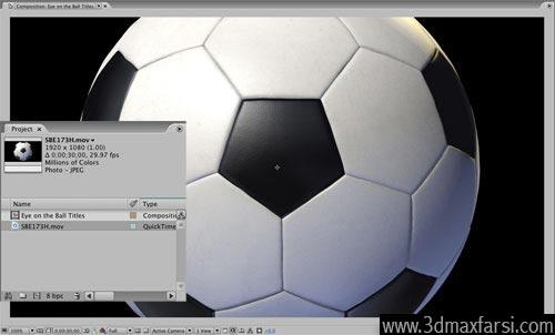 آموزش Importing footage compositions After Effects