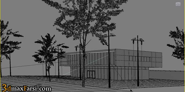 01-Vray-Exterior-ligthting-rendering
