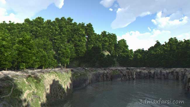 ساخت ویراش انواع عواض زمین با Vue xStream Terrain Editor