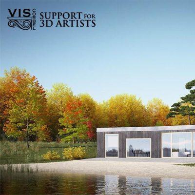 farsi architectural visualization فضاسازی Vray