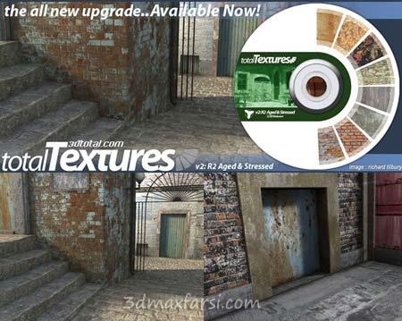 متریال معماری داخلی معماری 3D Total Textures V2