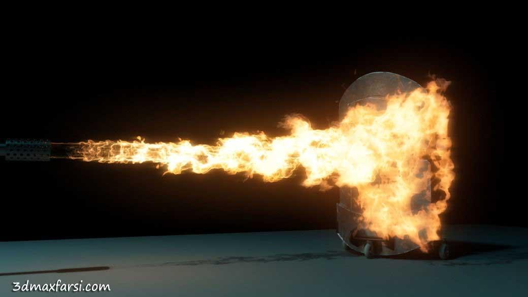 Digital Tutors - Simulating Flamethrower Effect Maya 2014