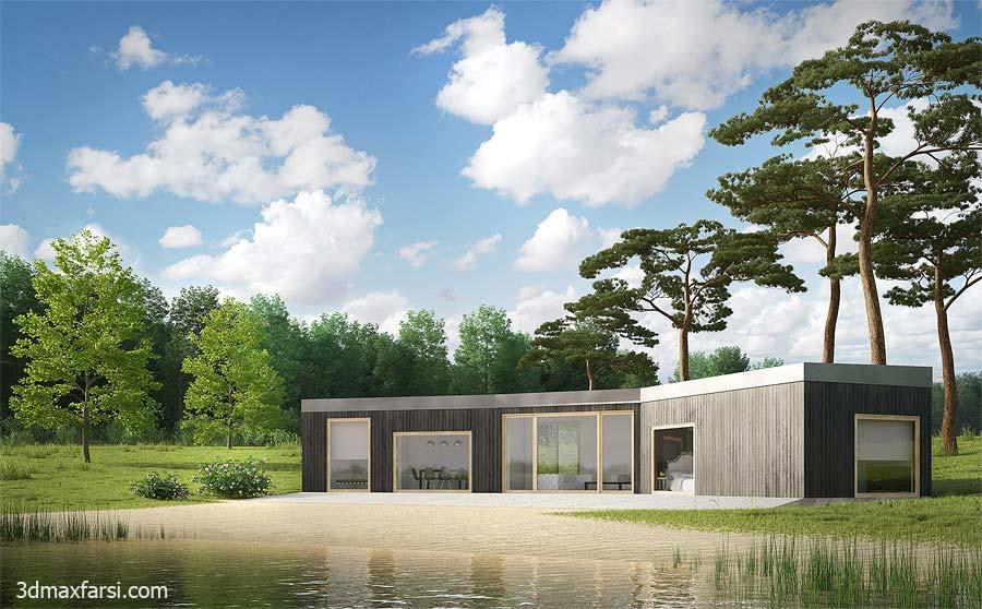 farsi architectural visualization vray