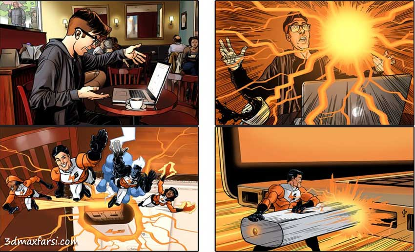 Constructing Commercial Storyboards in Photoshop