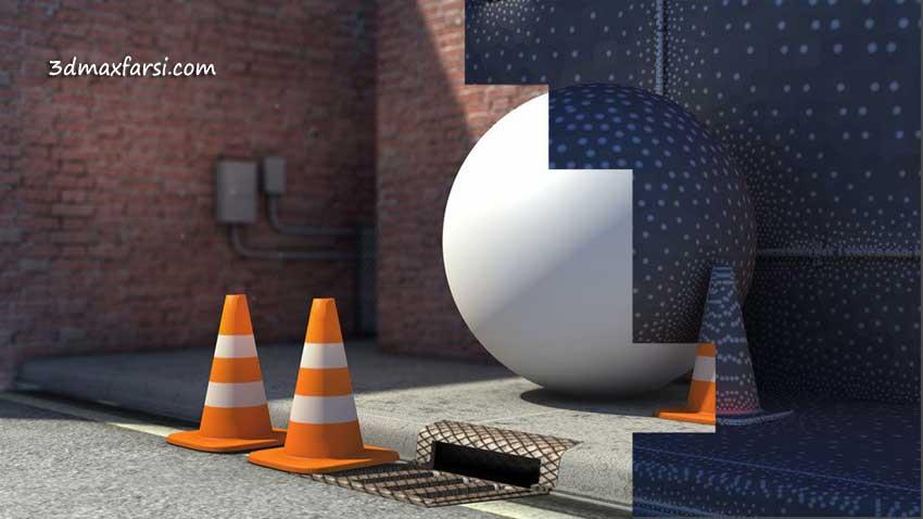 آموزش Digital Tutors - Introduction to Lighting in CINEMA 4D