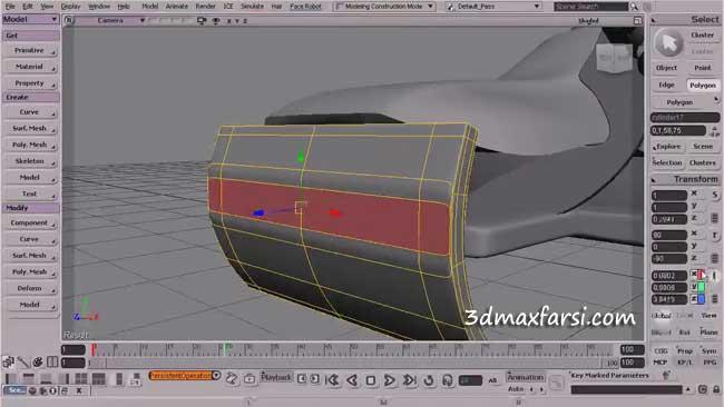 دانلود آموزش مدلسازی سافت ایمیج Softimage