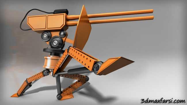 آموزش انیمیشن سازی تری دی مکس