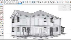 خرید آموزش مدلسازی معماری اسکپچ آپ
