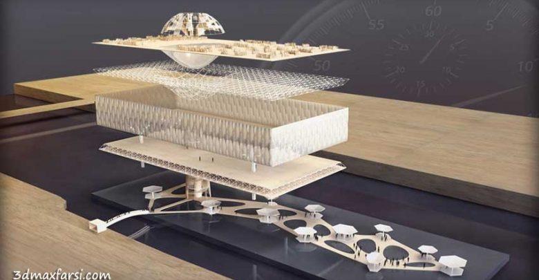 آموزش مدلسازی سریع پرزانته پروژه معماری بدون نیاز به ماکت سازی