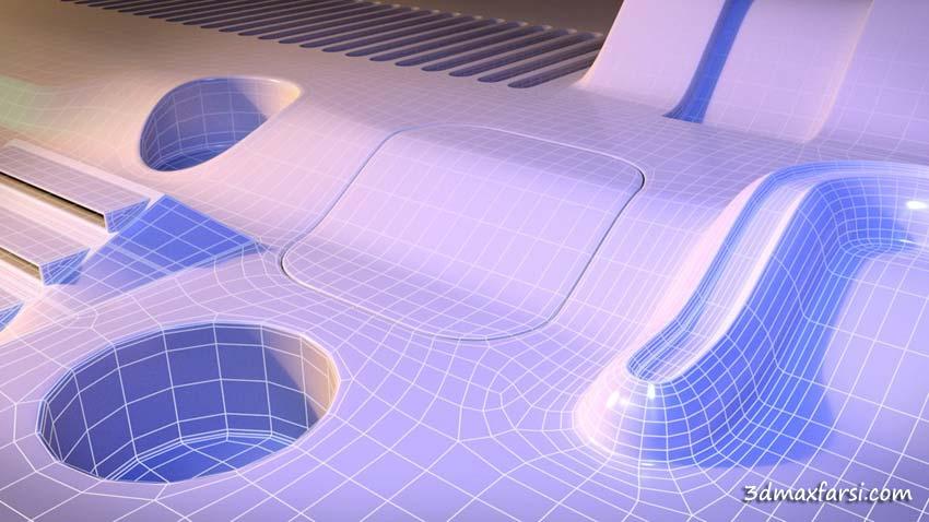 آموزش Tips for Modeling Complex Shapes in Maya