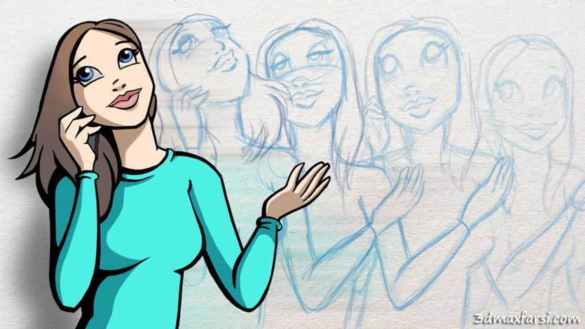انیمیشن دستی Traditional Animation Techniques in Photoshop