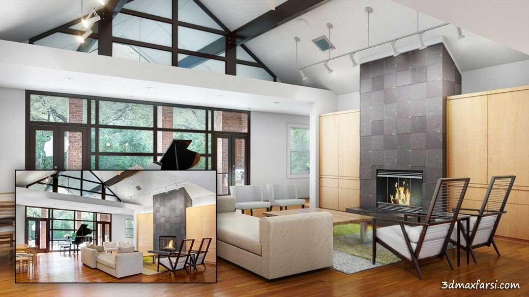 Digital-Tutors - Modeling an Interior Scene from Photo