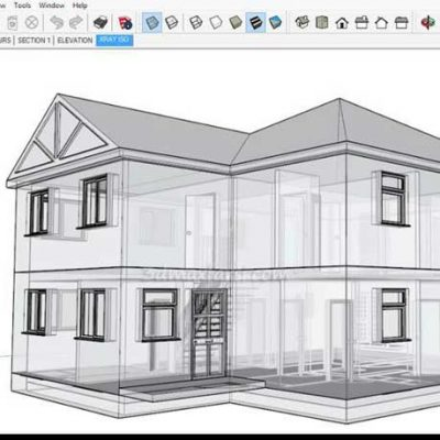 آموزش اسکچاپ معماری