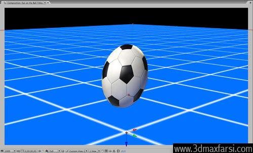 آموزش Add camera auto orient ball - After Effects