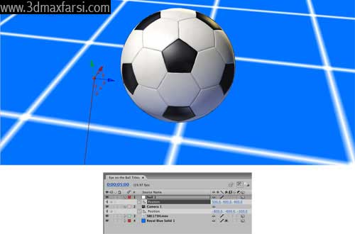 آموزش add null animate After Effects