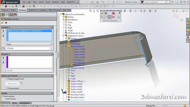 آموزش تصویری مدلسازی Solidworks