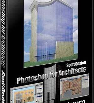 آموزش تصویری طراحی پوستر معماری فتوشاپ Photoshop Architects