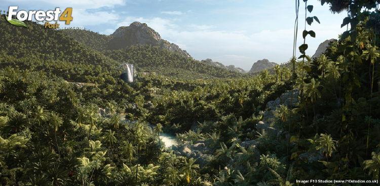 پلاگین ساخت جنگل چمن Forest Pack pro 4.3.6 + فیلم آموزشی