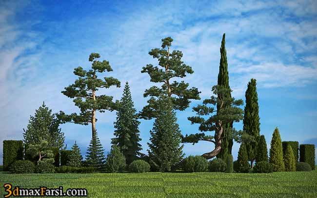 دانلود آموزش پلاگین HQ Plants 3 Forest Pack pro