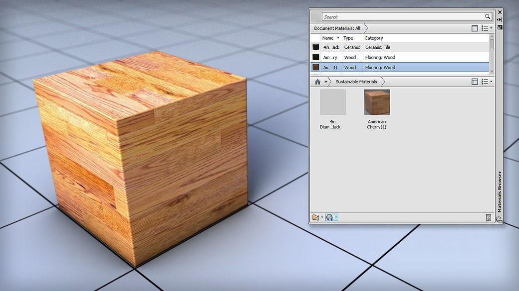 دانلود آموزش Customizing Your Materials and Textures in AutoCAD