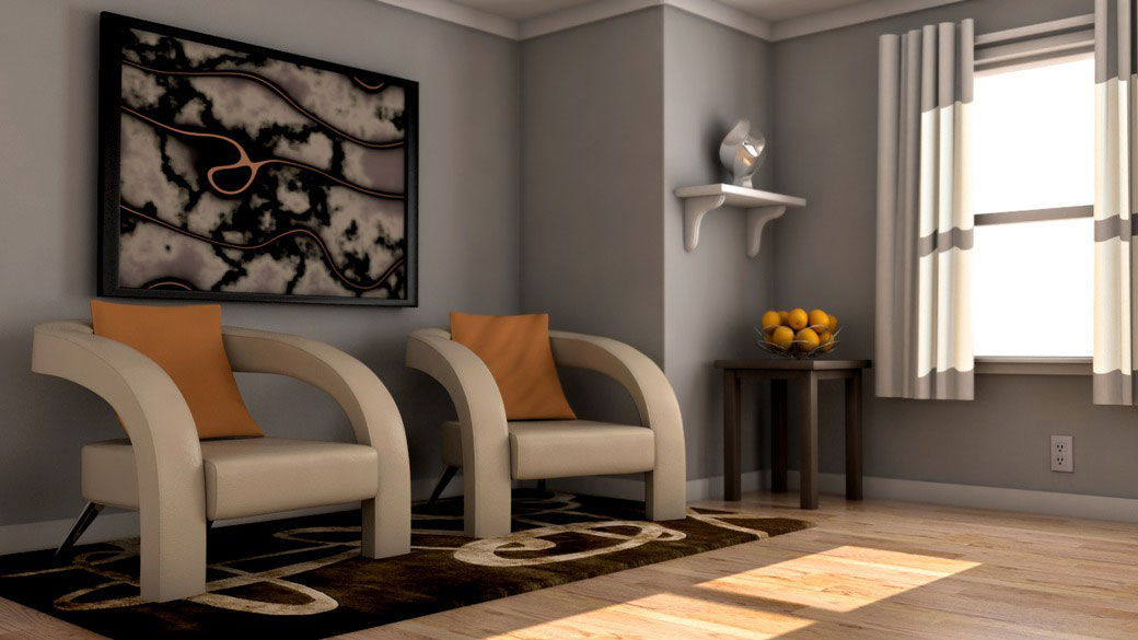 دانلود آموزش Rendering Interiors with V-Ray for Maya