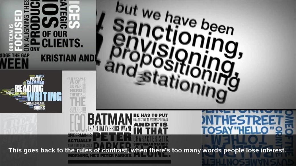 دانلود آموزش Typography Priorities and Pitfalls for Motion Graphics