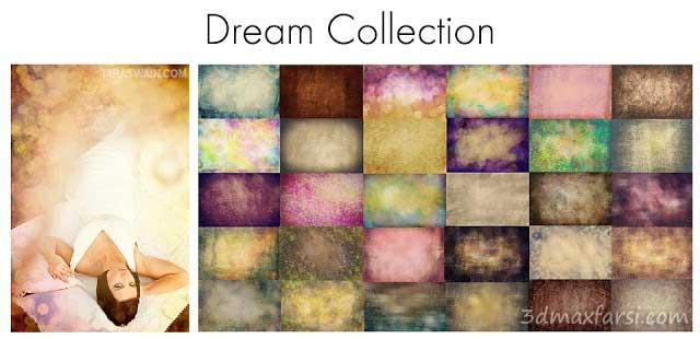 Overlays textures فتوشاپ رویایی