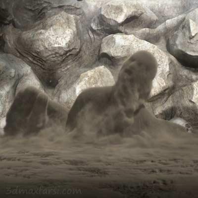 دانلود رایگان Simulating Sandman Effects in Maya