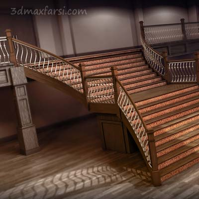 آموزش فارسی Creating a Custom Staircase in Revit