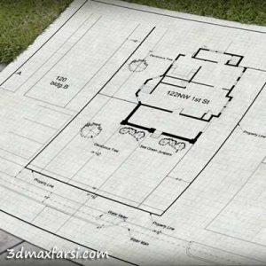 Drawing a Site Plan in AutoCAD آموزش فارسی سایت پلان اتوکد