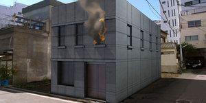 شبیه سازی آتش باد مه دود بخار سیستم های ذره ای تری دی مکس