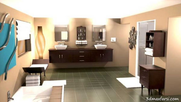آموزش فارسی Rendering Interiors in CINEMA 4D