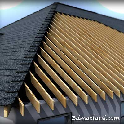 دانلود آموزش Modeling Roof Formations Structures and Materials Revit