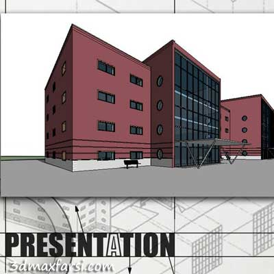 دانلود آموزش Preparing Views for Competition Boards in Revit