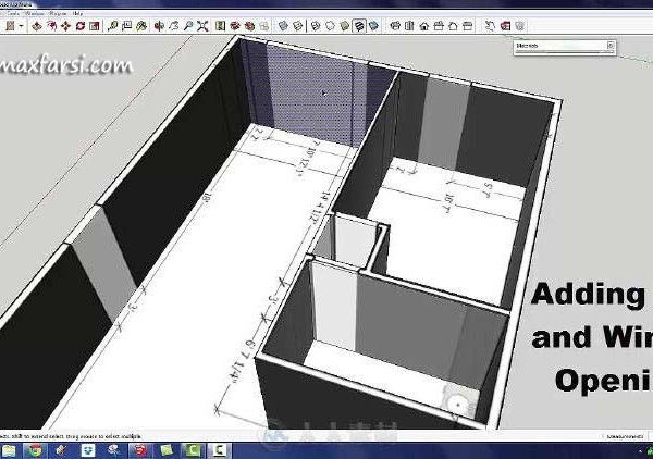 udemy SketchUp BootCamp: Creating Interiors with SketchUp