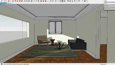 طراحی و رندر داخلی اسکچاپ