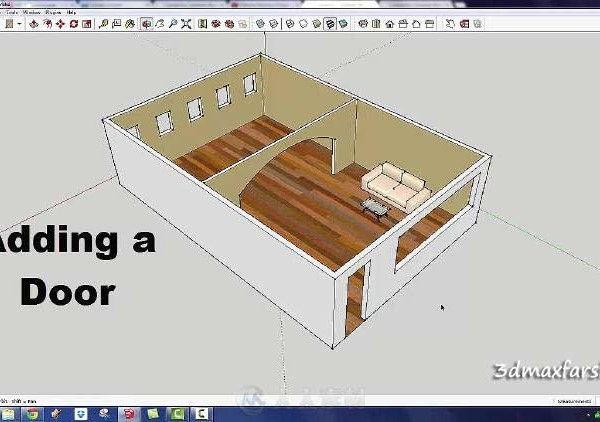مدلسازی رندر داخلی اسکچاپ
