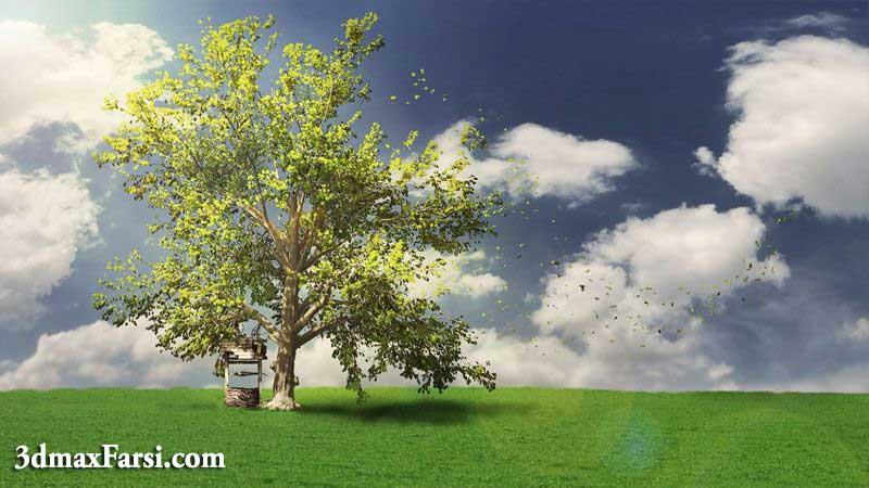 پلاگین ساخت درخت SpeedTree