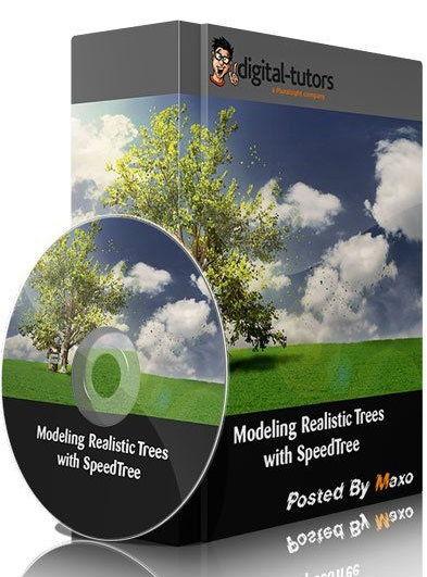 پلاگین ساخت درخت تری دی مکس واقع گرایانه آموزش SpeedTree 3ds Max
