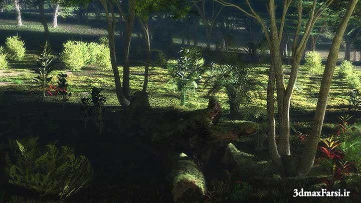 Photo of آموزش مدلسازی بهینه زمین شیب دار جنگل ویو اکوسیستم Vue