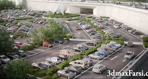 آموزش Forest pack parking Cars